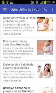 Semanas de Embarazo screenshot 1