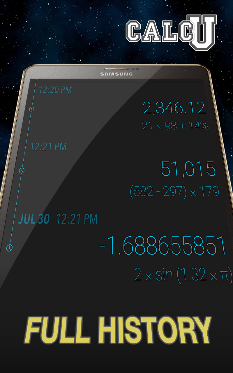 CALCU™ Stylish Calculator Free Screenshot 10