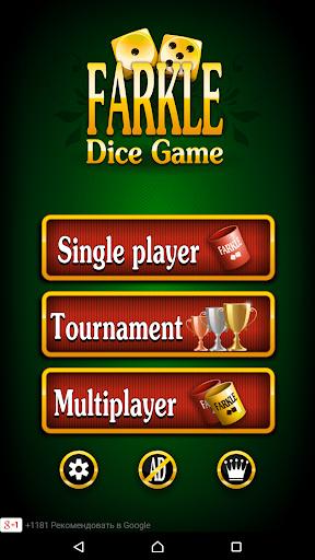 Farkle Dice Game Screenshot