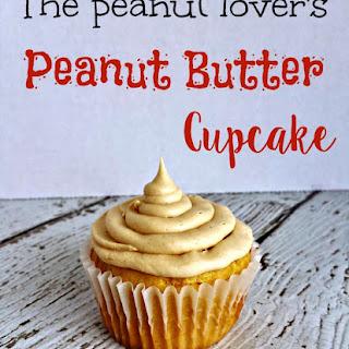 Peanut Lover's Peanut Butter Cupcake.