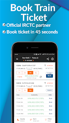 PNR Status, Train Running Status & Ticket Booking APK screenshot thumbnail 1