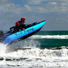 Racing by Tomasz Budziak - Sports & Fitness Watersports ( watersports, racing, new zealand,  )