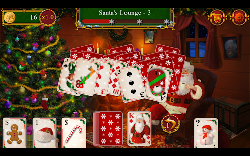 Santa's Christmas Solitaire TP- screenshot thumbnail
