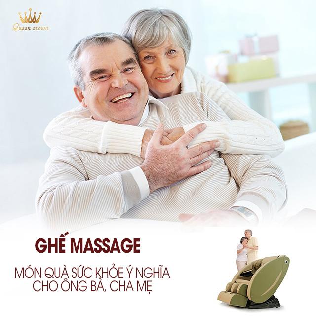 Ghế massage món quà ý nghĩa dành tặng ông bà, cha mẹ