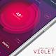 Violet Zooper Widget Theme v1.0