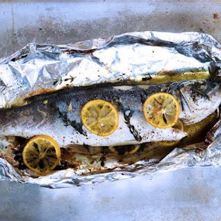 Oven Roasted Sea Bass