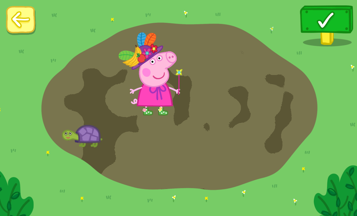 Peppa Pig: Golden Boots- screenshot