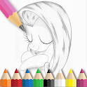 How to draw pony icon