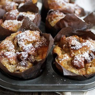 Bread Pudding Muffins.