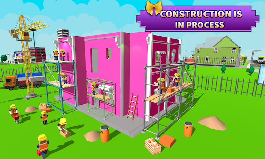 doll house design & decoration : girls house games - android apps