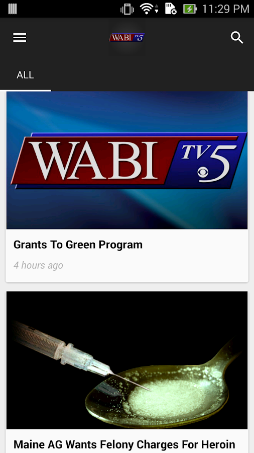 WABI TV5- screenshot