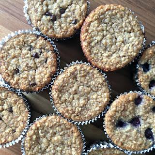 Flourless Banana Oatmeal Muffins.