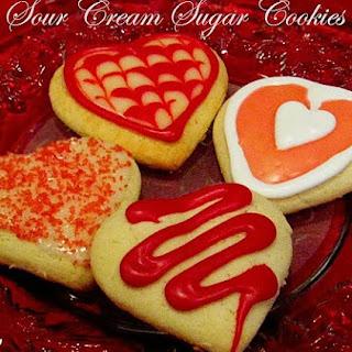 Sour Cream Sugar Cookies Recipe
