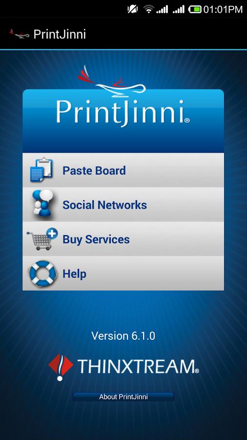 PrintJinni Mobile Printing App - screenshot