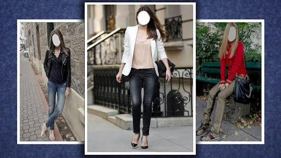 Women Jeans Dressing Photo Editor - náhled