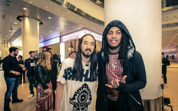 Photo: Loved working with Waka Flocka Flame for my first single off of #NEONFUTURE called Rage The Night Away!! Glad he was there for this. http://smarturl.it/RageTheNightAway