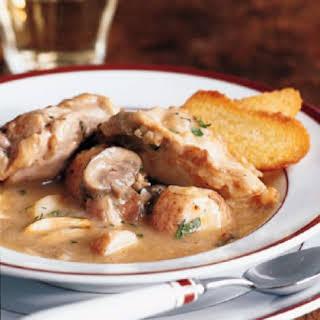 Chicken Braised in White Wine.
