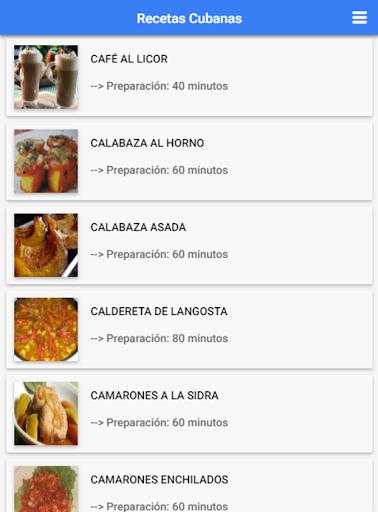 Recetas Cubanas: Cocina Cubana 1.2.3 Screenshots 7