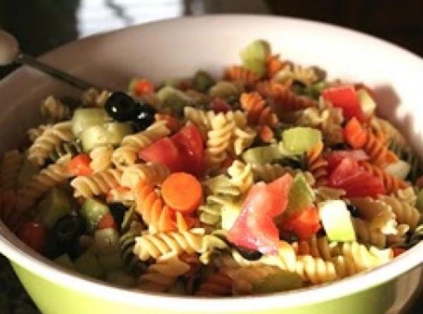 Sneaky Pasta Salad Recipe