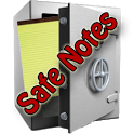 Safe Notes is a secure notepad icon