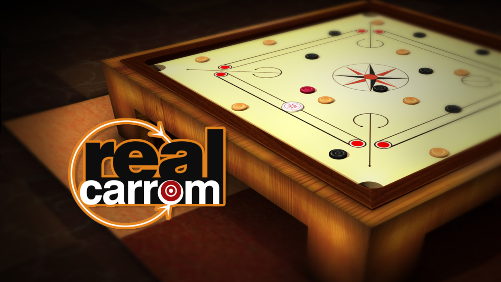 Real Carrom 3D : Multiplayer- screenshot