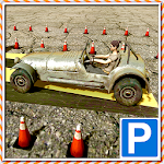 Offroad Car Driving School 3D Icon