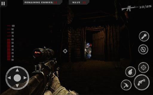 Télécharger gratuit Horreur Sniper - Clown fantôme dans les morts APK MOD 2