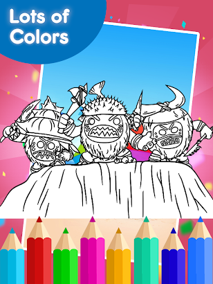 Coloring Games for moanaa- screenshot thumbnail