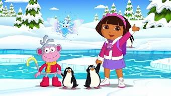 Doras Eislauf-Spektakel