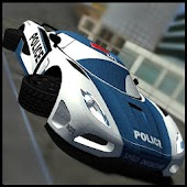 Flying Police Car Simulator 3D