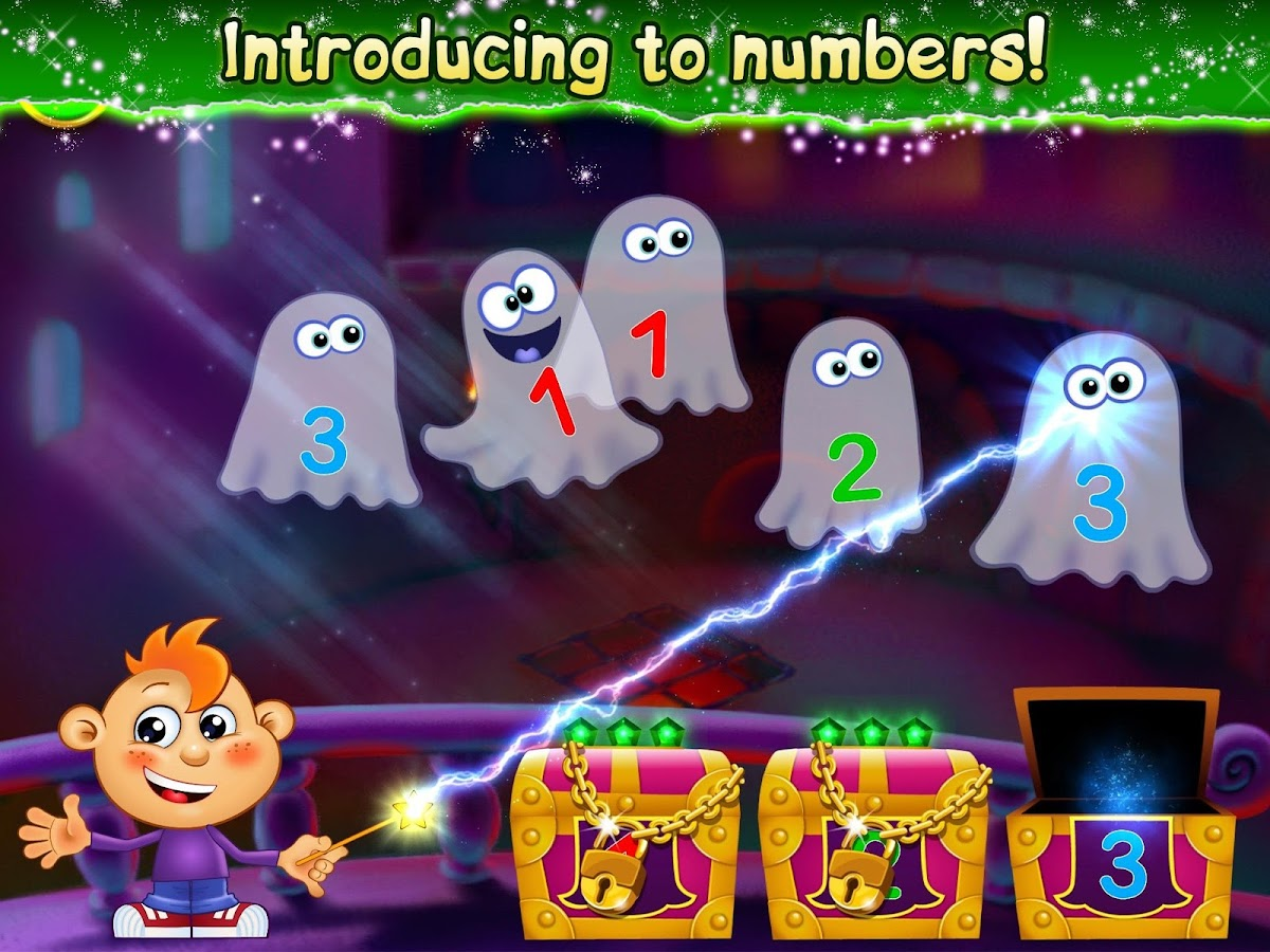 Magic Counting 4 Toddlers Writing Numbers for Kids- screenshot
