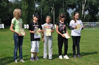Photo: Laureaci IV rundy Pucharu Małopolski - dzieci starsze. Mistrzostwa Małopolski Dzieci i Młodzików 2011 (Dobczyce, 16.08.2011)