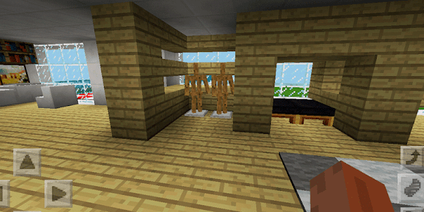 ExtraModern House. Map for MCPE - náhled
