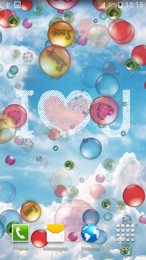 Bubble Live Wallpapers 2