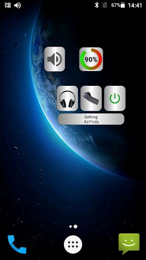 Bluetooth Audio Widget Battery FREE Apk 1
