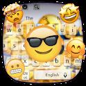 Cute Animal Emoji Keyboard Theme