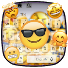 Cute Animal Emoji Keyboard Theme icon