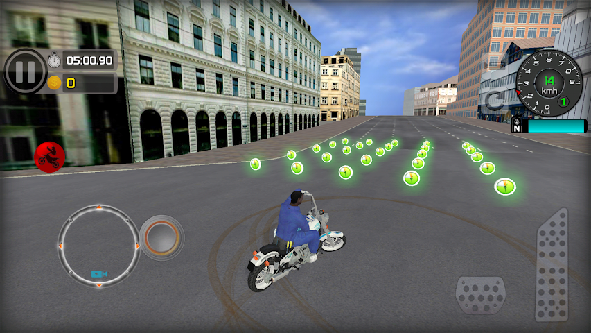 android Freestyle Motorcycle Driver Screenshot 1