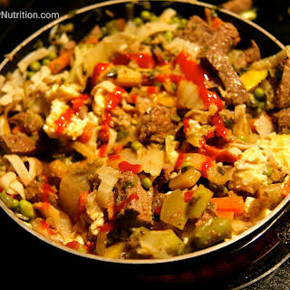 Beef Cabbage Stirfry.