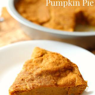 The Healthiest Crustless Pumpkin Pie.