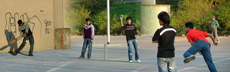 Giocatori di strada di Inazur