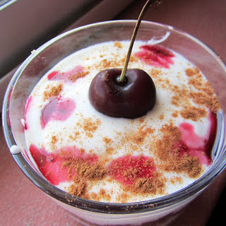 Cherry Trifle.