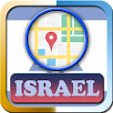 Israel Maps And Direction icon