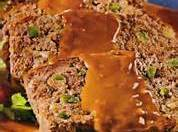 Asian Meatloaf With Peanut Butter Sauce Recipe
