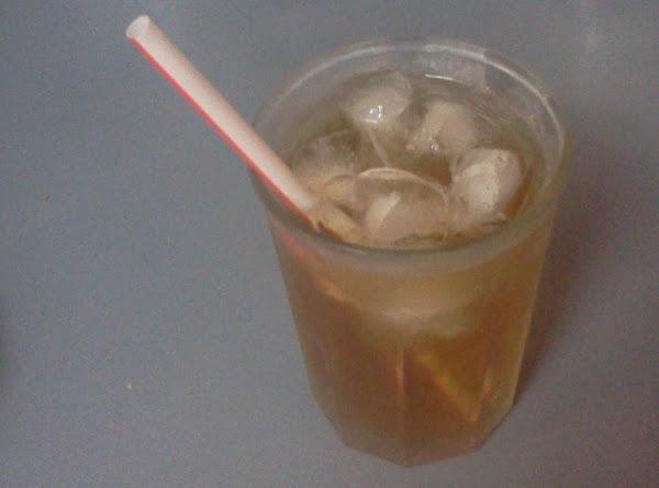 Ginger Mint Tea Punch Recipe