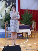 Photo: Dyrektor Gimnazjum nr 1 w Płońsku - pani mgr Iwona Zdunek.