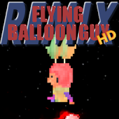 Flying Balloon Guy HD Remix