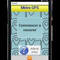 Metre GPS icon
