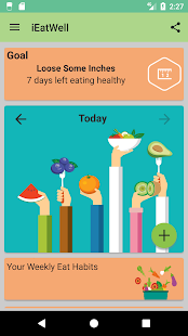 IEatWell:Food Diary&Journal Healthy Eating Tracker - náhled