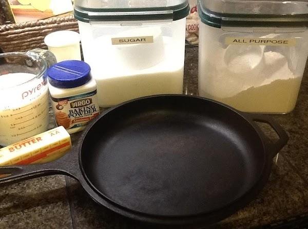 Cast Iron Buttermilk Biscuits Recipe